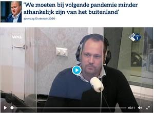 Npo1 Radio Interview Stand Van NL